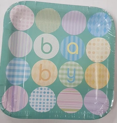 Lunch Plate - Baby (Pkt 8)