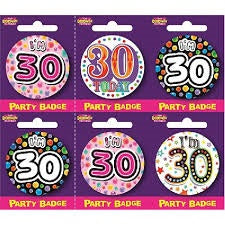 Badge - 30th Birthday