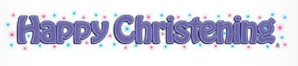 Banner - Happy Christening