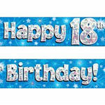 Banner - Happy 18th Birthday