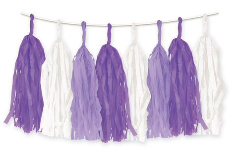 Tassels - Purple (E3142)