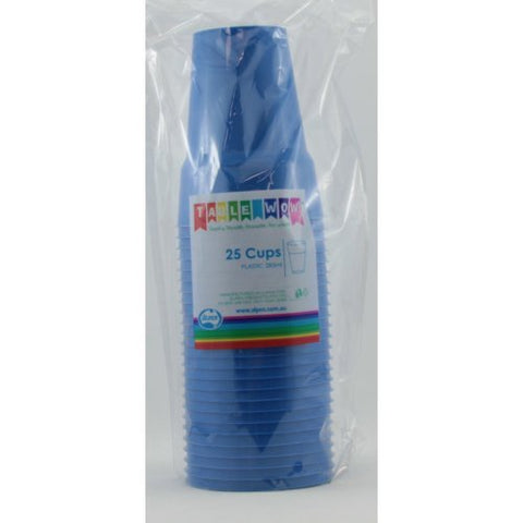 Cups - Pkt 25 - Royal Blue