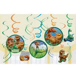 Hanging Swirl Decorations - The Good Dinosaur (670509)