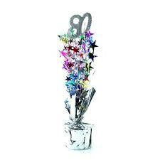 Spangle Centrepiece - 80th - Multicoloured (207430)