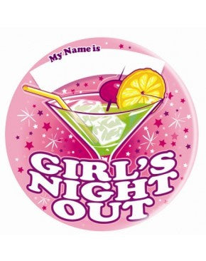 Badge - Girls Night Out