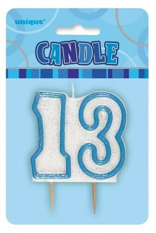 Candle - 13 - Blue (34395)