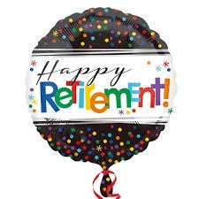 "Foil - 18"" - Happy Retirement (32816)"