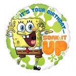 "Foil - 18"" - Sponge Bob - Soak it up (21706)"