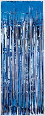 Door Curtain - Blue
