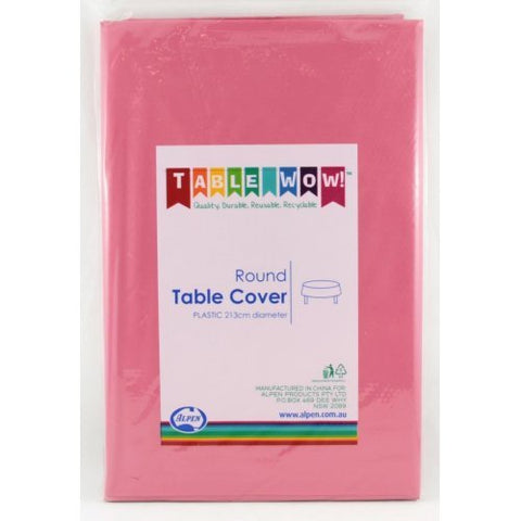Tablecover - Round - Burgundy