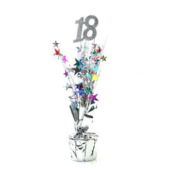 Spangle Centrepiece - 18th - Multicoloured (207305)