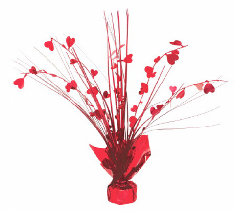 Table Centrepiece - Red Heart