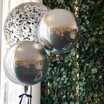 2 x Orbz & 1 x 3 Foot Confetti filled balloons