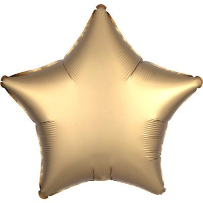 "Foil - 18"" - Star - Satin Luxe - Gold (36804)"