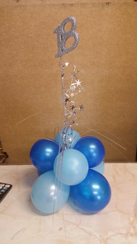 Balloon Table Centrepiece - T1