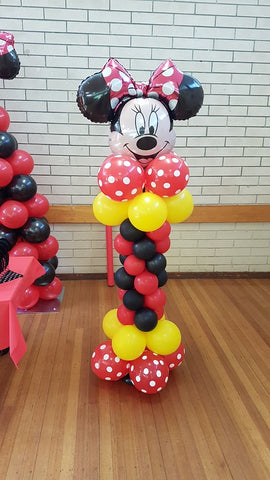 Minnie/Mickey Mouse Column