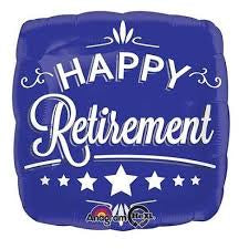"Foil - 18"" - Happy Retirement (28738)"