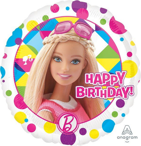 "Foil - 18"" - BARBIE SPARKLE HAPPY BIRTHDAY (30654)"