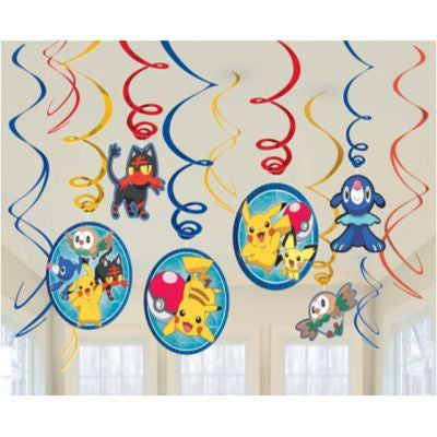 Swirl Decorations - Pokemon