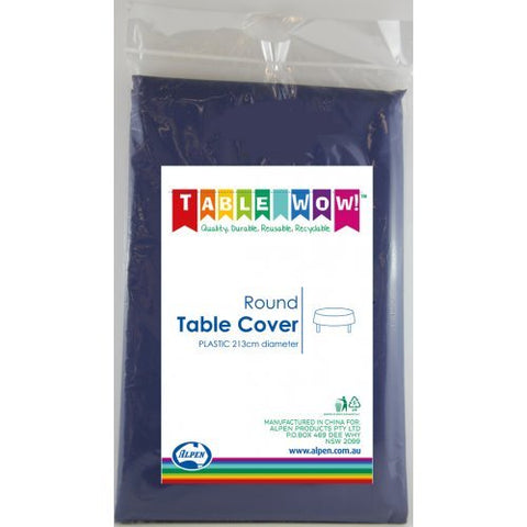Tablecover - Round - Navy Blue