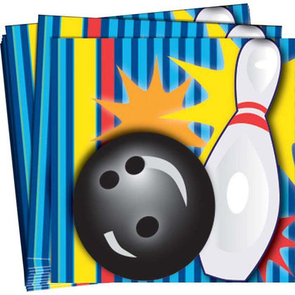 Napkins - Beverage - Ten Pin Bowling