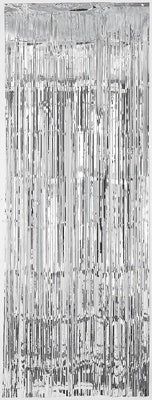 Door Curtain - Silver