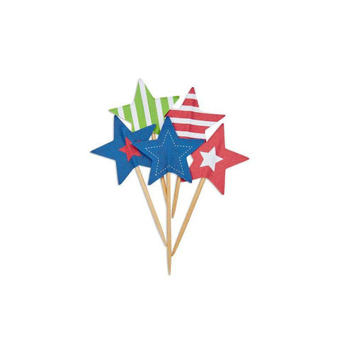 Cupcake Toppers - Stars & Stripes (CTSR5912)