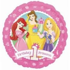 "Foil - 18"" - Birthday 1st Princess (113782)"