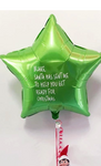 Personalised Star balloon for your Elf