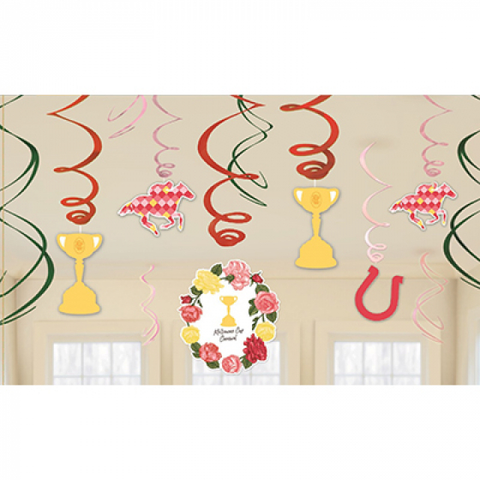 Swirl Decorations - Melbourne Cup (8822026)