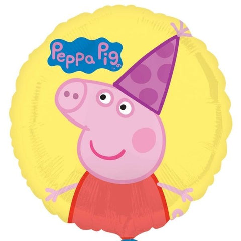 "Foil - 18"" - Peppa Pig (Yellow) (31909)"