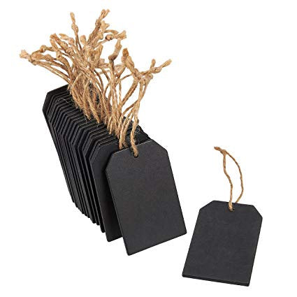 Mini Chalkboard Tags - Set of 3  (KW0247)