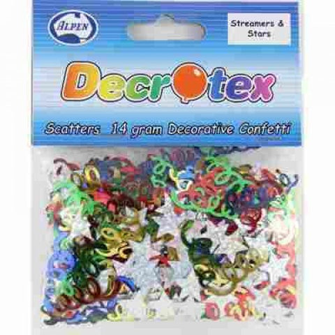 Scatters - Streamers & Stars