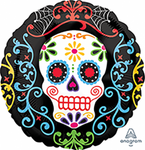 "Foil - 18"" - Sugar Skull (Day of the Dead) (29939)"