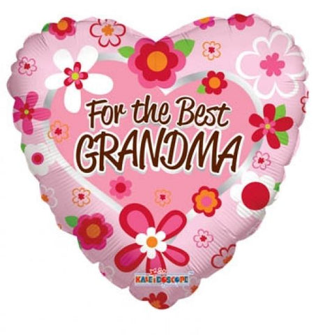 "Foil - 18"" - For the Best Grandma (88089-18)"