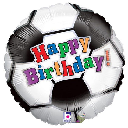 "Foil - 18"" - Happy Birthday Soccer (86280)"