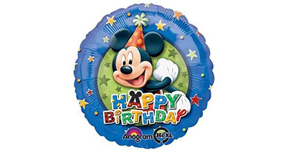 "Foil - 18"" - Mickey Mouse - Happy Birthday (12485)"
