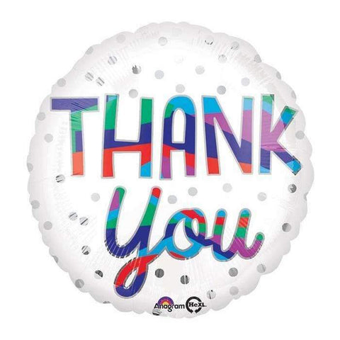 "Foil - 18"" - Thank You (34548)"