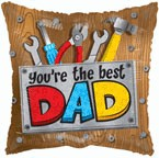 "Foil - 18"" - You're the best Dad (86066-01)"
