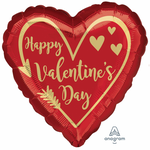 "Foil - 18"" - Happy Valentine's Day (4050001)"