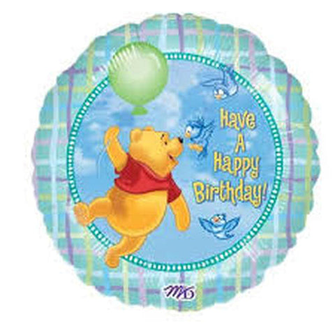 "Foil - 18"" - Have a Happy Birthday - Winnie the Pooh (09201)"