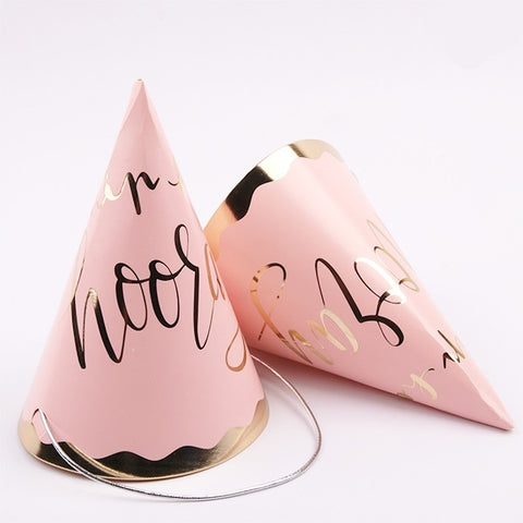 Party Hats - Hip Hip Hooray (Pink) (A204245)