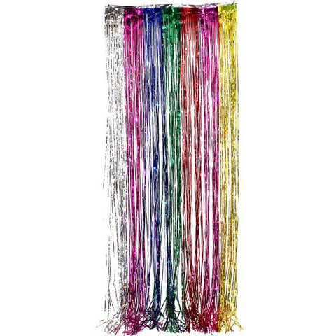 Foil Curtain Backdrop - Multicoloured (E5724)