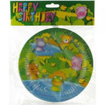 "Plates - 9"" - Party Animals (360060)"