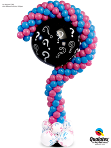 Question Mark Gender Reveal Balloon Column
