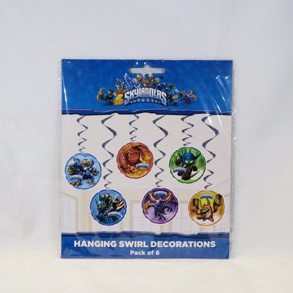 Hanging Swirl Decorations - Skylanders (E3184)