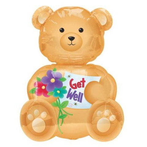 Supershape - Get Well Teddy (09880)