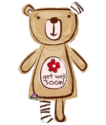 Supershape - Get Well Teddy (24527)