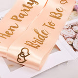 Sashes - Bride to be