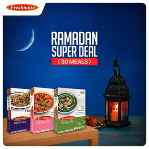 Ramadan Super Deal, 15 packs (30 meals)